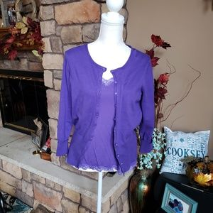 The Limited Sz Large, twin set